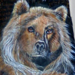 Bear Feather Paintings
