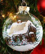 Holiday Painted Christmas Ornaments